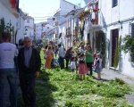 15th of May celebration of San Isidro, patron saint of farm workers  in Estepona. Spanish So Simple Courses in Estepona and Marbella