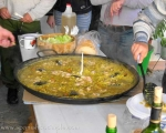 Paella with friends up in Prado del Rey, Cádiz
