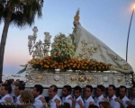 Celebration of the Virgen del Carmen every 16th July, the Patron saint of Sailors and Fishermen.
