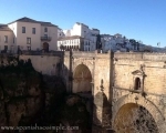 Bridge over gorge in Ronda