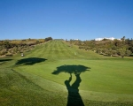 A few rounds of golf between Spanish classes at the Estepona Golf Course?
